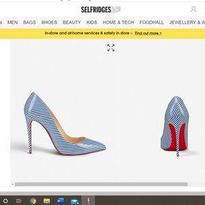 Christian Louboutin Pigalle Follies 100 Patent Pum